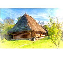 Old rickety shack Photographic Print