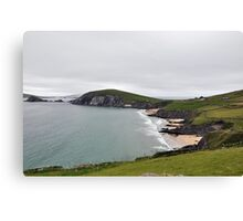 The End of Europe,  Dunquin, Kerry, Ireland Canvas Print