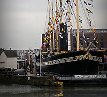 The SS Great Britain, Bristol, UK by buttonpresser