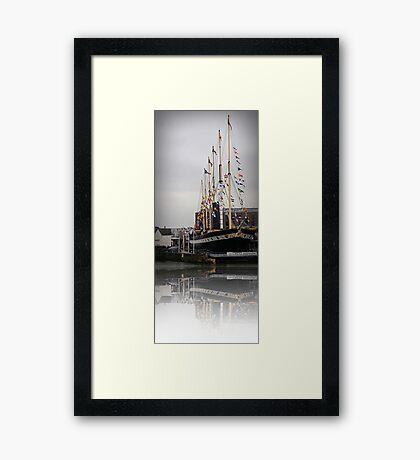 The SS Great Britain, Bristol, UK Framed Print