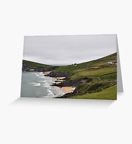 The End of Europe,  Dunquin, Kerry, Ireland 2 Greeting Card