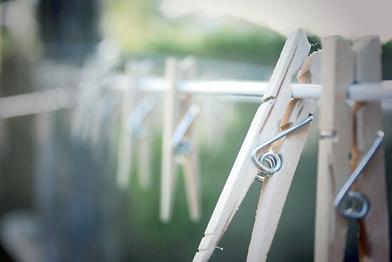 Clothespin by Tara Wagner