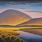 Evening surreal landscape by Alan Kenny