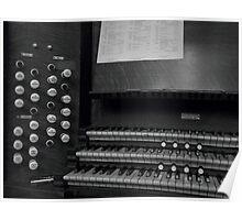 Organ, Shrewsbury Abbey Poster