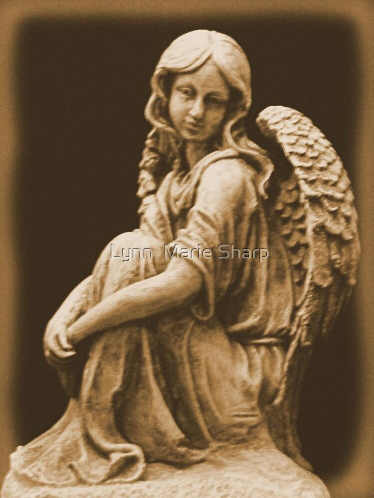 Welcome Angel by Marie Sharp