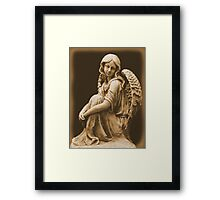 Welcome Angel Framed Print