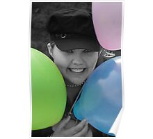 Balloons are fun for all ages Poster