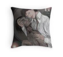 BARRACUDA starring Alexandra Felgate Throw Pillow