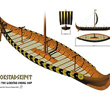 Gokstad Viking Ship by Aasmund