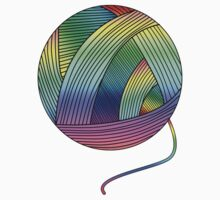 Rainbow Yarn Ball! Kids Clothes