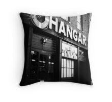 Maggie's Hangar - Shreveport, LA Throw Pillow