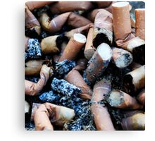 cigarettes Canvas Print
