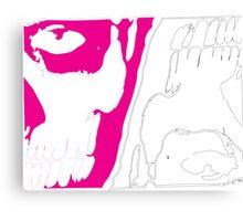 Rick Genest & Magenta Shaddow Canvas Print