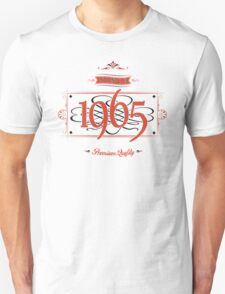 Since 1965 (Red&Black) T-Shirt