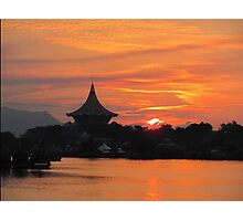 Kuching Sunset Photographic Print