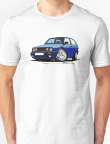 VW Golf GTi (Mk2) Blue T-Shirt
