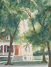 The Sunlit Porch by JennyArmitage
