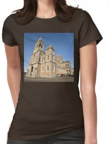 Church, Granville, France, Europe 2012 Womens Fitted T-Shirt