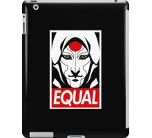 Equal iPad Case/Skin