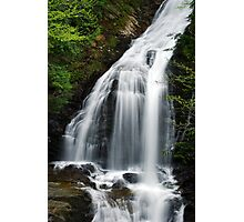 Moss Glen Falls, Stowe - Middle Section Photographic Print