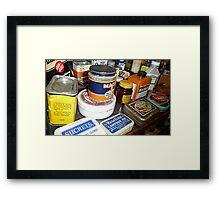 Grandma's Medicine Cabinet © Framed Print