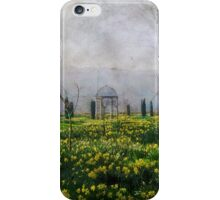 Daffodil Walk iPhone Case/Skin