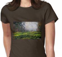 Daffodil Walk Womens Fitted T-Shirt