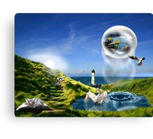 Little mice are dreaming Canvas Print