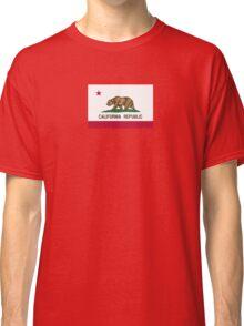 California USA State Flag Bedspread Duvet T-Shirt - Californian Sticker Classic T-Shirt
