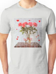 Hearts and Flowers Unisex T-Shirt