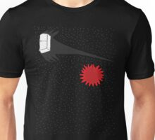 Cosmic Fridge Surfs the Infinite Void of Space Unisex T-Shirt