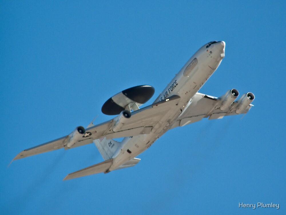 E-3 Sentry, AWACS by Henry Plumley
