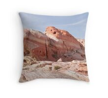 Mother nature is a painter in the Valley of Fire State Park Throw Pillow