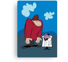 Gruesome Twosome Canvas Print