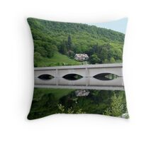 Lady Bower in the Late Spring Throw Pillow
