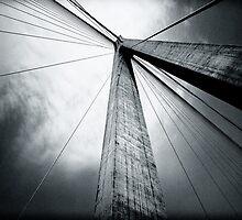 Bridge in B&W by trbrg