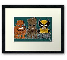 Rock Paper Sissors Framed Print