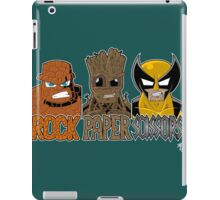 Rock Paper Sissors iPad Case/Skin