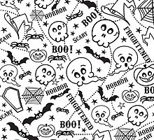 Cartoon Halloween pattern by Nick  Greenaway