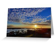 Susan River Sunset Greeting Card