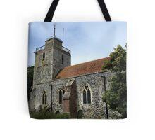 St Mary, Woodnesborough Tote Bag
