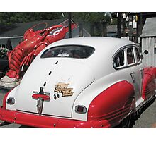 LobsterRestaurant Owners' 1946 Pontiac Photographic Print