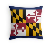 Maryland USA State Flag Baltimore Annapolis Duvet Cover T-Shirt Sticker Throw Pillow
