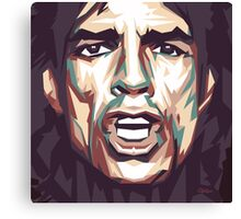 Mick portrait Canvas Print