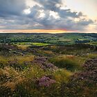 Sunset over Oxenhope, Yorkshire by Gavin Sawyer