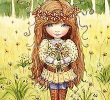flower field by vian