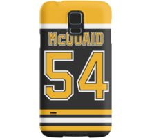 Boston Bruins Adam McQuaid Jersey Back Phone Case Samsung Galaxy Case/Skin