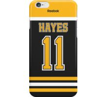 Boston Bruins Jimmy Hayes Jersey Back Phone Case iPhone Case/Skin