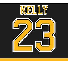 Boston Bruins Chris Kelly Jersey Back Phone Case by Russ Jericho