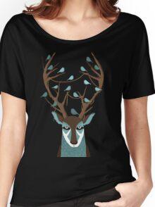 The deer Women's Relaxed Fit T-Shirt